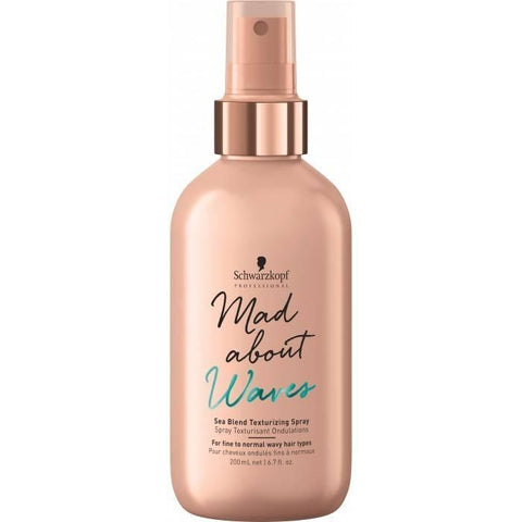 Schwarzkopf Professional Mad About Waves Texturizing Spray 200ml