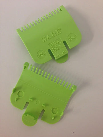 Wahl Comb Attachment 1.5mm/#1/2 Green WA3137
