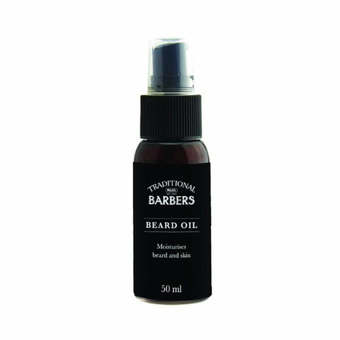 Traditional Barbers Beard Oil 50ml TB-BO50