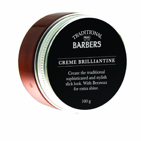 Traditional Barbers Creme Brilliantine 100gm TB-BC100