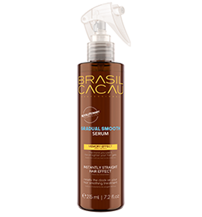 Brasil Cacau Keratin Gradual Smooth Serum 215ml