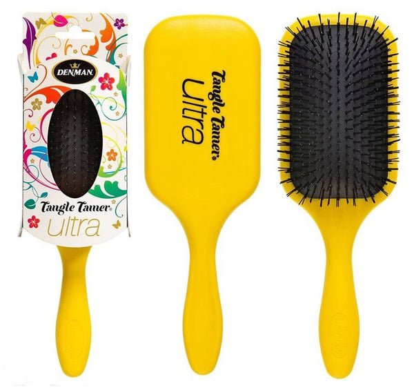 Denman D90L Tangle Tamer Ultra Yellow 15280