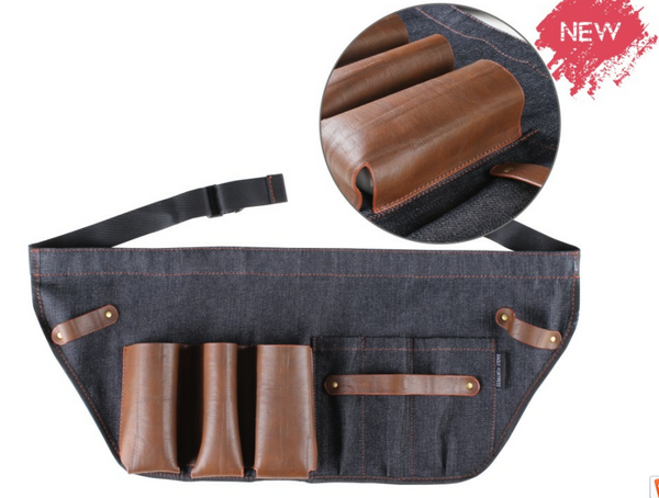 Tool Belt Leather & Denim
