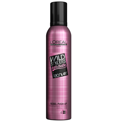L'Oreal Professional Techni. Art Rebel Push Up Wild Stylers Mousse 250ml