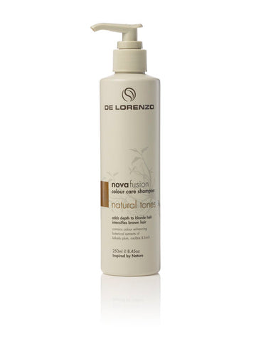 De Lorenzo Novafusion Shampoo Natural Tones 250ml