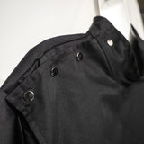 Black Barber Jacket 2XL