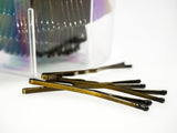 In Mood Bronze Bobby Pins