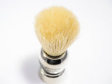 Zenith Shaving Brush Boar Bristle - Chrome