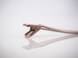Foil Clip Plastic Coated Rose Gold 2432