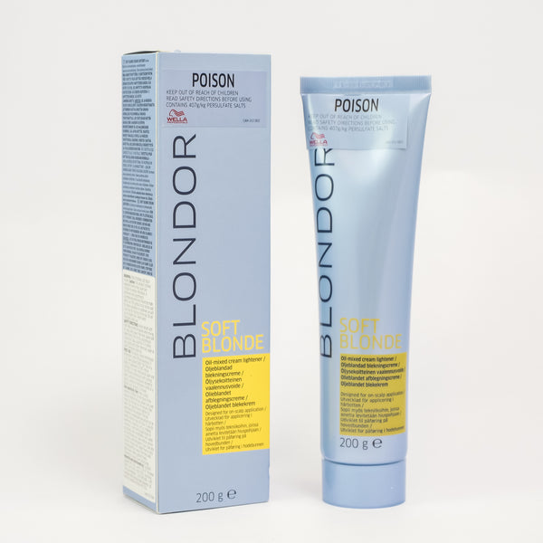 Wella Blondor Soft Blonde Cream 200gm