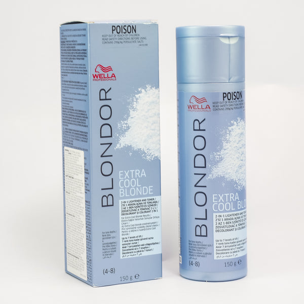 Wella Blondor Extra Cool Blonde Powder 150gm