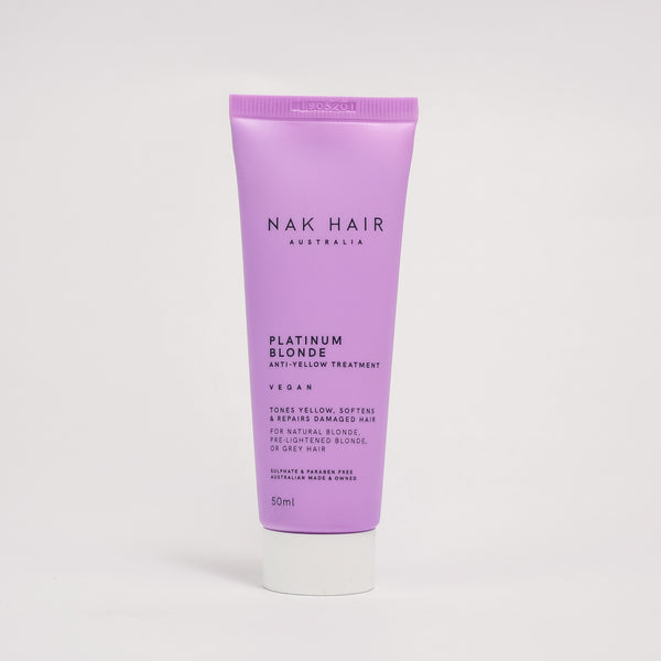 Nak Platinum Blonde Treatment Anti-Yellow 60 Second Repair 50ml Minis