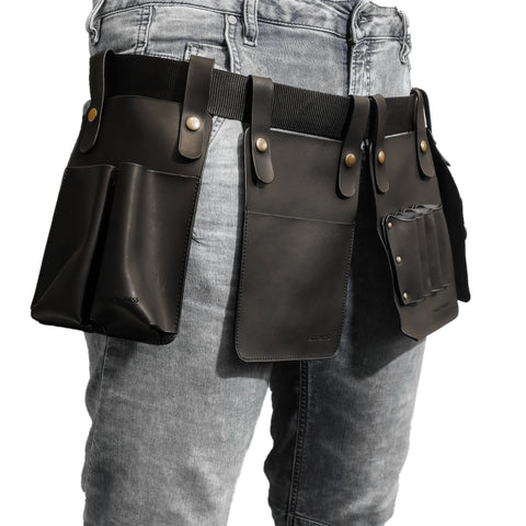 Leather Tool Belt with Detachable Sections