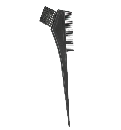 Tint Brush With Comb- Black 1155