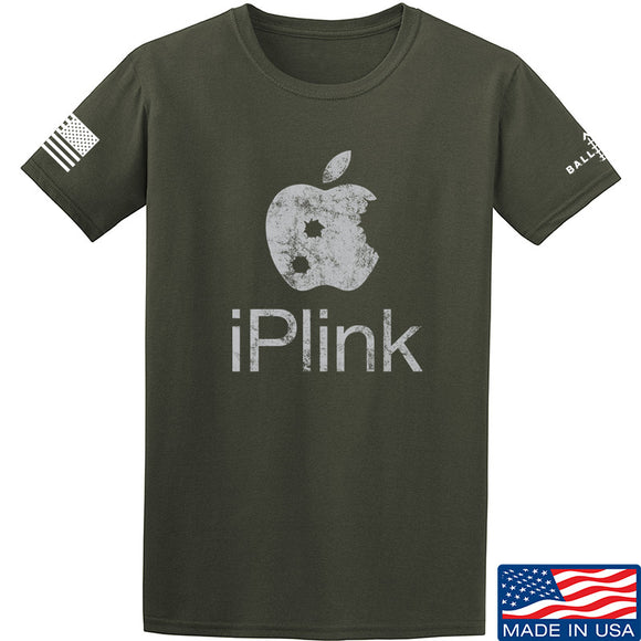 22plinkster iPlink T-Shirt T-Shirts Small / Military Green by Ballistic Ink - Made in America USA