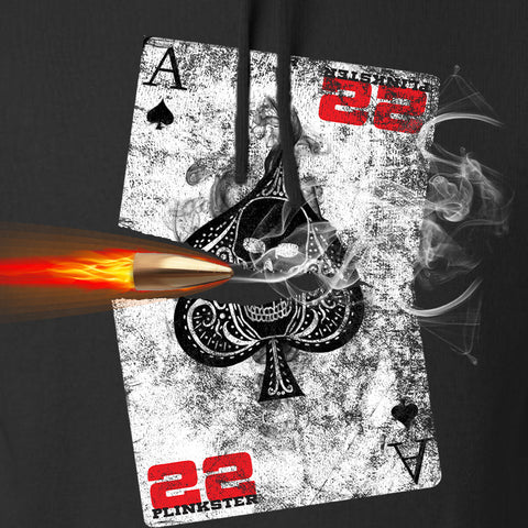 22plinkster Aces Wild Hoodie Hoodies [variant_title] by Ballistic Ink - Made in America USA