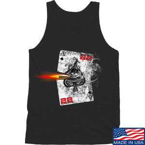 22plinkster Aces Wild Tank Tanks SMALL / Light Grey by Ballistic Ink - Made in America USA