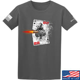 22plinkster Aces Wild T-Shirt T-Shirts Small / Charcoal by Ballistic Ink - Made in America USA