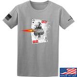 22plinkster Aces Wild T-Shirt T-Shirts Small / Light Grey by Ballistic Ink - Made in America USA