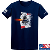 22plinkster Aces Wild T-Shirt T-Shirts Small / Navy by Ballistic Ink - Made in America USA