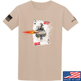 22plinkster Aces Wild T-Shirt T-Shirts Small / Sand by Ballistic Ink - Made in America USA