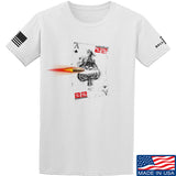 22plinkster Aces Wild T-Shirt T-Shirts Small / White by Ballistic Ink - Made in America USA