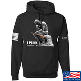 22plinkster I Plink, Therefore I Am Hoodie Hoodies Small / Black by Ballistic Ink - Made in America USA