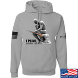 22plinkster I Plink, Therefore I Am Hoodie Hoodies Small / Light Grey by Ballistic Ink - Made in America USA