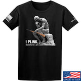 22plinkster I Plink, Therefore I Am T-Shirt T-Shirts Small / Black by Ballistic Ink - Made in America USA