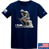 22plinkster I Plink, Therefore I Am T-Shirt T-Shirts Small / Navy by Ballistic Ink - Made in America USA