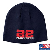22plinkster 22plinkster Logo Beanie Headwear Navy by Ballistic Ink - Made in America USA