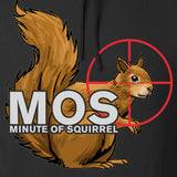 22plinkster Minute of Squirrel Hoodie Hoodies [variant_title] by Ballistic Ink - Made in America USA