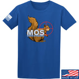22plinkster Minute of Squirrel T-Shirt T-Shirts Small / Blue by Ballistic Ink - Made in America USA