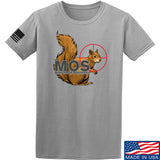 22plinkster Minute of Squirrel T-Shirt T-Shirts Small / Light Grey by Ballistic Ink - Made in America USA