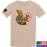 22plinkster Minute of Squirrel T-Shirt T-Shirts Small / Sand by Ballistic Ink - Made in America USA