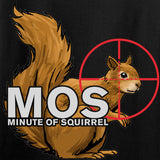 22plinkster Ladies Minute of Squirrel T-Shirt T-Shirts [variant_title] by Ballistic Ink - Made in America USA