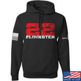 22plinkster 22plinkster Logo Hoodie Hoodies Small / Black by Ballistic Ink - Made in America USA