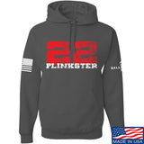 22plinkster 22plinkster Logo Hoodie Hoodies Small / Charcoal by Ballistic Ink - Made in America USA