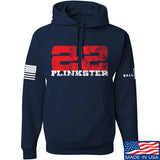 22plinkster 22plinkster Logo Hoodie Hoodies Small / Navy by Ballistic Ink - Made in America USA