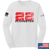 22plinkster 22plinkster Logo Long Sleeve T-Shirt Long Sleeve Small / White by Ballistic Ink - Made in America USA