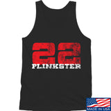 22plinkster 22plinkster Logo Tank Tanks SMALL / Black by Ballistic Ink - Made in America USA