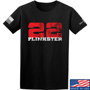 22plinkster 22plinkster Logo T-Shirt T-Shirts Small / Sand by Ballistic Ink - Made in America USA