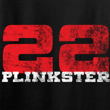 22plinkster Ladies 22plinkster Logo V-Neck T-Shirts, V-Neck [variant_title] by Ballistic Ink - Made in America USA