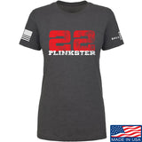 22plinkster Ladies 22plinkster Logo T-Shirt T-Shirts SMALL / Charcoal by Ballistic Ink - Made in America USA