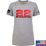 22plinkster Ladies 22plinkster Logo T-Shirt T-Shirts SMALL / Light Grey by Ballistic Ink - Made in America USA