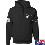 704 Tactical 704 Tactical Chest Logo Hoodie Hoodies Small / Black by Ballistic Ink - Made in America USA