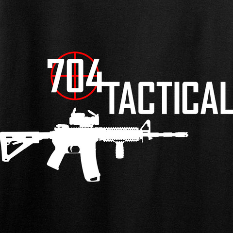 704 Tactical 704 Tactical Chest Logo Long Sleeve T-Shirt Long Sleeve [variant_title] by Ballistic Ink - Made in America USA
