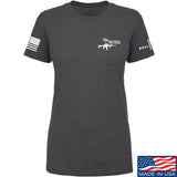 704 Tactical Ladies 704 Tactical Chest Logo T-Shirt T-Shirts SMALL / Charcoal by Ballistic Ink - Made in America USA