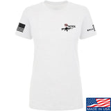 704 Tactical Ladies 704 Tactical Chest Logo T-Shirt T-Shirts SMALL / White by Ballistic Ink - Made in America USA