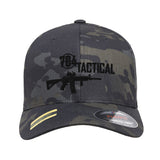 704 Tactical 704 Tactical Logo Flexfit® Multicam® Trucker Mesh Cap Headwear [variant_title] by Ballistic Ink - Made in America USA